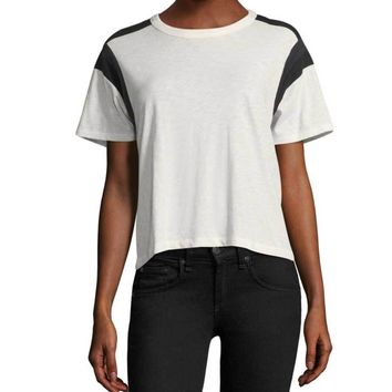 Rag & Bone/Jean Panel Tee Shirt