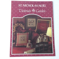Counted Cross Stitch, Victorias Garden, St Nicholas pattern, Pattern Magazine