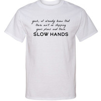 "Niall Horan ""Slow Hands - Ain't No Stopping"" T-Shirt"