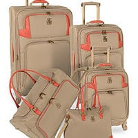 Tommy Bahama® Belle Luggage Collection - Champagne - Belk.co