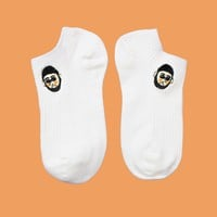 The Professional: Léon & Mathilda Ankle Sock Set (Set of 2)