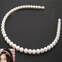 TS031 Fashion imitation pearl Barrette hair bands accessories head jewelry
