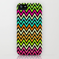 Chevron Mix #6 iPhone Case by Ornaart | Society6