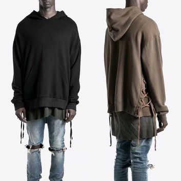 Hip hop oversized Hoodies Sweatshirts