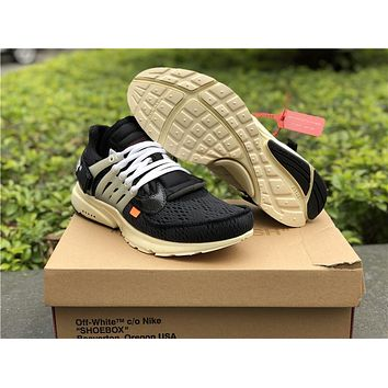 OFF-WHITE x Nike Air Presto 2.0 Black AA3830-001 36---45