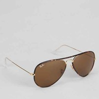 Ray-Ban Original Havana Gold Aviator Sunglasses - Gold One