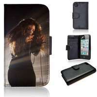 Lorde Shines | wallet case | iPhone 4/4s 5 5s 5c 6 6+ case | samsung galaxy s3 s4 s5 s6 case |