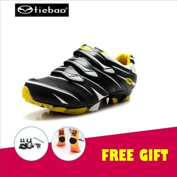 TIEBAO cycling shoes cleats mountain bike zapatillas deportivas hombre mtb sneakers superstar chaussure velo route zapatilla