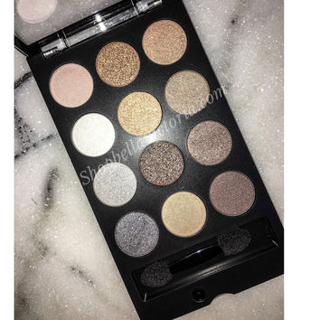 Smoky Nudes Shimmery Eyeshadow Palette City Color