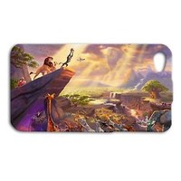 Fun Disney Lion King Simba Cute Phone Case iPhone Cover Funny Cool Custom Movie