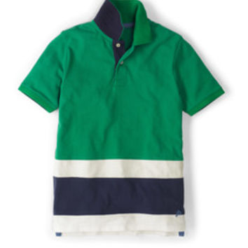 Colourblock Piqué Polo