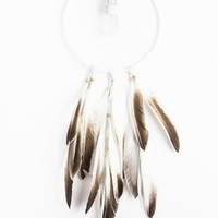 Crystal Wing Dream Catcher