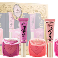 Too Faced Melted Kisses & Sweet Cheeks 3-piece Gift Box