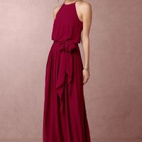 Alana  Wedding Guest  Wedding Guest Dress by Anthropologie x BHLDN in Raspberry Size: