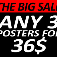The big posters SALE,poster,digital print,art,home decor,moon,skull,space,gothic,movie poster,tv poster
