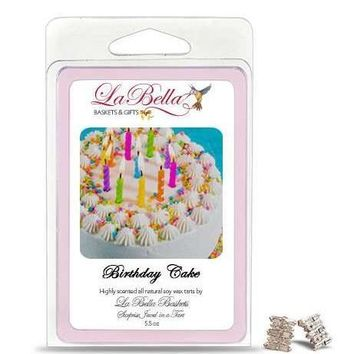 Birthday Cake Jewelry Soy Wax Jumbo Tart Melts