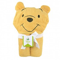 Winnie the Pooh Towel with Hooded Character