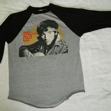 Vintage BRUCE SPRINGSTEEN 1984 TOUR T Shirt Original