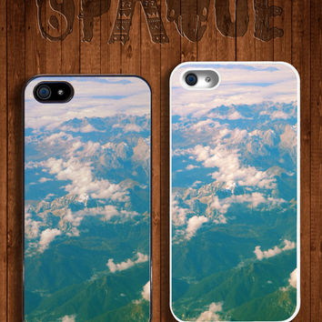Mountain Apple iPhone 5 5s & 4 4s Durable Hard Case - In Multiple Colours - Hipster Indie Grunge Vintage Tropical Summer Photogrpahy Tumblr