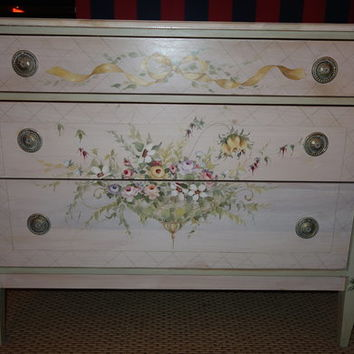 Gracious Home hand painted bedroom furniture set