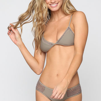 Kahana Bikini Top in Smoke