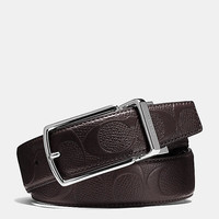 Modern Harness Cut-To-Size Reversible Signature Crossgrain Leather Belt