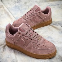 Nike Air Force 1 Low Af1 Pink Sport Shoes - Best Online Sale