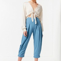 UO Kimmy High-Rise Pleated Pant | Urban Outfitters