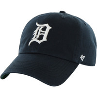 MLB Detroit Tigers Women's Black Preferred Pick 9Twenty Adjustable Hat