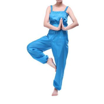 ESBONFI Women Sauna Suit Weight Loss Pants Sweat Suits Slimming Exercise Fitness Workout Clothes Diet