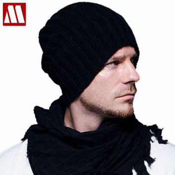 New Arrive Fashion Hip-Hop Knitted Beanie Acrylic Hat / Skull Cap, Unisex winter Knit cap color mix