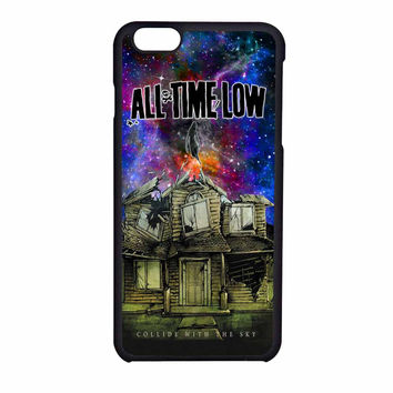 Pierce The Veil Band All Time Low Poster Galaxy Parody iPhone 6 Case