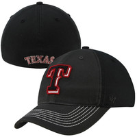 47 Brand Texas Rangers Coffman Closer Flex Hat - Black/Charcoal