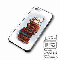 Harry potter Hedwig owl iPhone case 4/4s, 5S, 5C, 6, 6 +, Samsung Galaxy case S3, S4, S5, Galaxy Note Case 2,3,4, iPod Touch case 4th, 5th, HTC One Case M7/M8