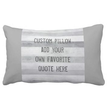 add a quote pillow for custom home decor