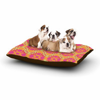"Miranda Mol ""Jazzy"" Orange Pink Dog Bed"