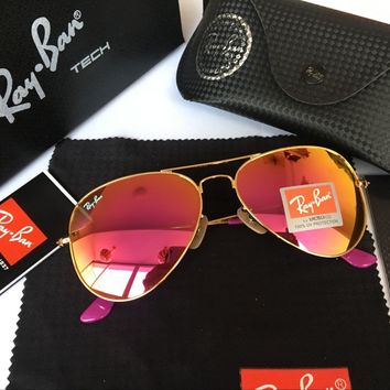 Ray Ban Fashion Sunglasses RB3025 Gold/Pink