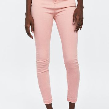 JEANS HIGH-WAISTED SKINNY IN SOHO PINKDETAILS
