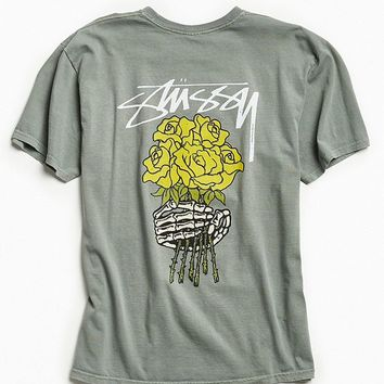 Stussy Bouquet Pigment Dyed Tee | Urban Outfitters