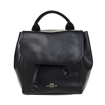 Coach Derby Leather Backpack Tote Purse - #F59819