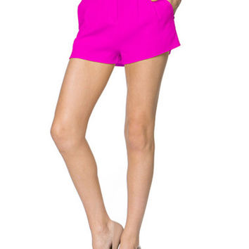 Sweetest Thing Shorts - Hot Pink