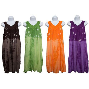 Women's Cover-Ups with Tie Dye Prints & V-neck