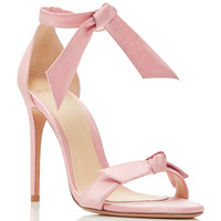 M'O Exclusive Clarita Satin Sandals | Moda Operandi
