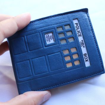 Tardis Doctor Who Wallet RFID