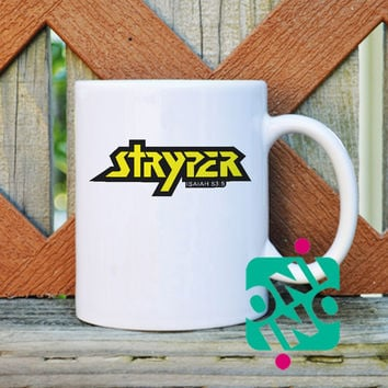 Stryper Logo Coffee Mug, Ceramic Mug, Unique Coffee Mug Gift Coffee