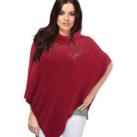 Arizona Coyotes Crystal Knit Poncho