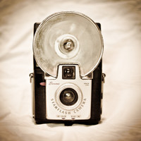 Brownie Flash Vintage Camera 8 x 8 Photography Art Print- Great Gift for the Photographer