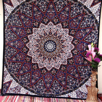 Bedspread,mandala tapestries,tapestry,wall hanging wall tapestries,tapestries,indian tapestries,dorm tapestry,bohemian tapestry