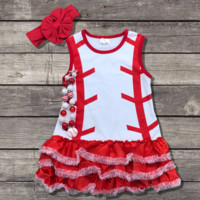 Toddler Baseball Dress