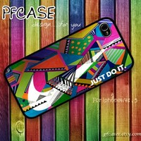 Nike Just do it aztec color : Handmade case For Iphone 4/4s